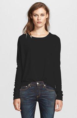 Women's Rag & Bone/jean 'Camden' Long Sleeve Top $150 thestylecure.com