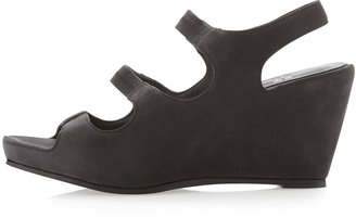 Eileen Fisher Ditto Stretch Slingback Wedge