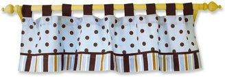 Trend Lab Max Polka-Dot Striped Window Valance