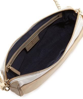 Pour La Victoire Bordeaux Convertible Crossbody Bag, White/Bone