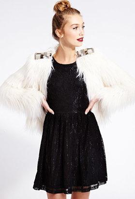 Forever 21 Poetic Crochet Lace Dress