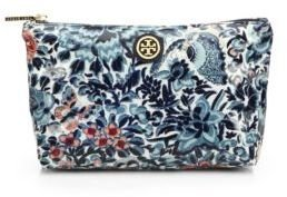 Tory Burch Small Floral Slouchy Cosmetic Case