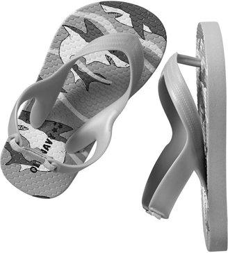 Old Navy Patterned Flip-Flops for Baby