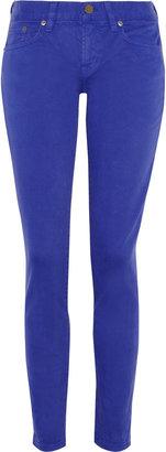 J.Crew Toothpick low-rise skinny jeans