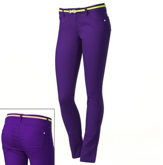 Tinseltown color skinny jeans - juniors