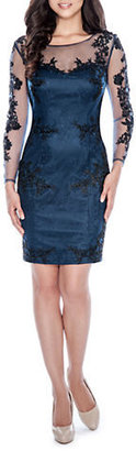 Decode 1.8 Lace Sleeved Sheath Dress