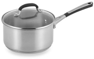 Calphalon Simply Stainless Steel 2-Quart Covered Saucepan