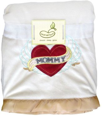 """Beansprout mommy"""" fleece blanket"""