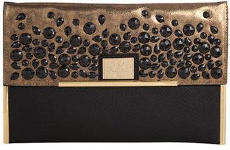 Dorothy Perkins Black embellished clutch