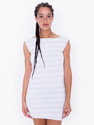 American Apparel Fine Jersey Stripe T Dress
