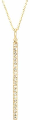Jennifer Meyer Women's Diamond Long Stick Pendant Necklace