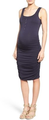 Women's Nom Maternity Sleeveless Maternity/nursing Dress $84 thestylecure.com