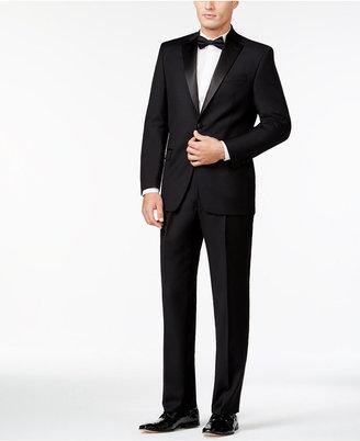 Lauren Ralph Lauren Classic-Fit Solid Black Wool Tuxedo $695 thestylecure.com