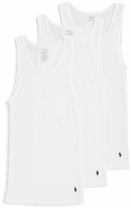 Polo Ralph Lauren 3 Pack Ribbed Tank $39.50 thestylecure.com