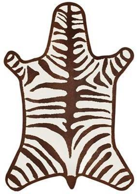 Jonathan Adler Brown Zebra Rug
