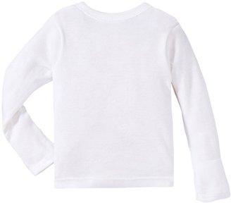 Gerber 2-Pk L/S Side Snap Shirt w/ Mitten - White-0-3 Months