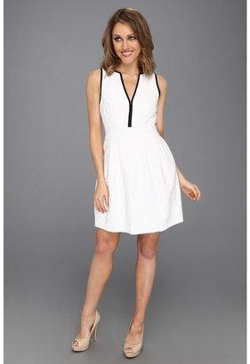 Nanette Lepore Madrid Dress (White) - Apparel