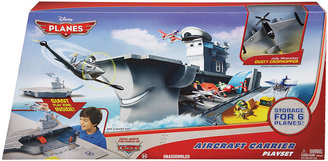 Disney Mattel Kids Toy, Planes Yorkie Aircraft Carrier Playset
