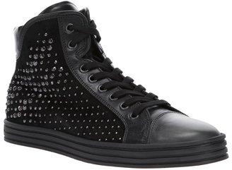Hogan studded hi-top sneaker