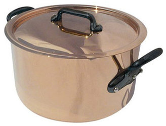 Mauviel 8.5-qt. M'Heritage Stew Pan with Cast Iron Handles
