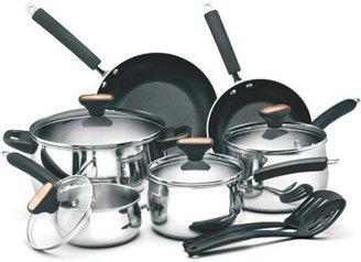 Paula Deen 12-pc. Signature Stainless Steel Cookware Set