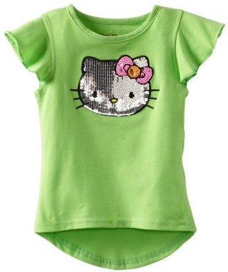 Hello Kitty Girl's Tee With Neons Sequin