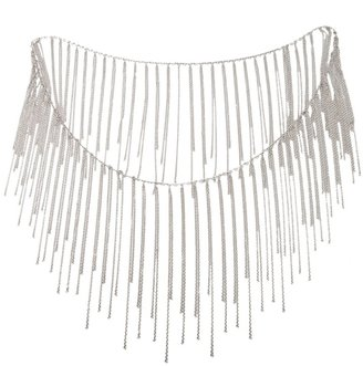 Fallon fringe necklace