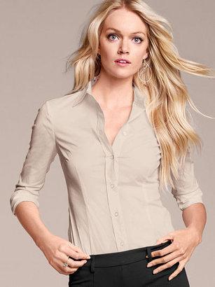 Victoria's Secret Fitted Poplin Shirt