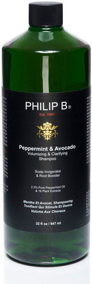 Philip B Peppermint & Avocado Volumizing & Clarifying Shampoo, 32 oz.