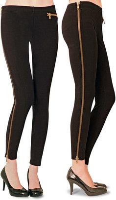 Hot Sox Side Zipper Leggings