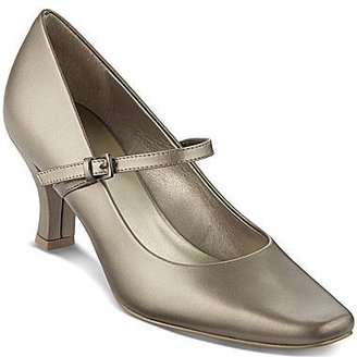 JCPenney east5th® Marcey Leather Mary Jane Pumps
