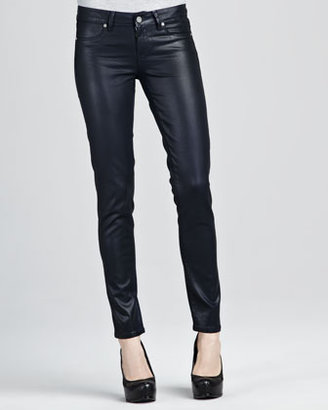 Paige Verdugo Azure Silky Skinny Jeans