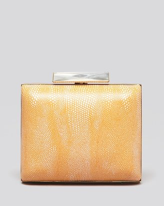 Sondra Roberts Clutch - Stingray Embossed Box