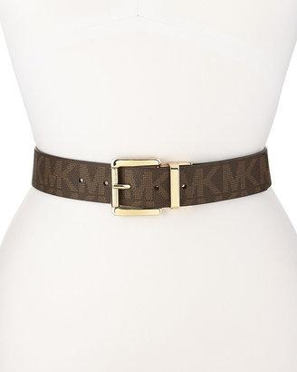 MICHAEL Michael Kors Golden-Buckle Belt