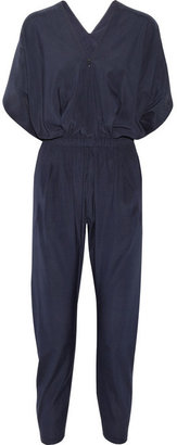 Zero Maria Cornejo Lena stretch-silk charmeuse jumpsuit