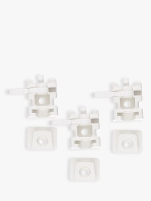 John Lewis & Partners Track Brackets, Pack of 5