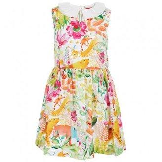 Oilily Wildlife Print Dress