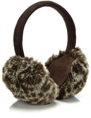 Accessorize Leopard Ear Muff