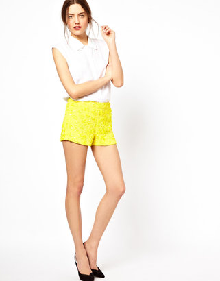French Connection Mimosa Mist Shorts