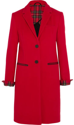 Karl Lagerfeld Mudhoney wool-blend felt coat