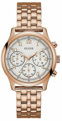 GUESS Chronograph Rose-Goldtone Bracelet Watch