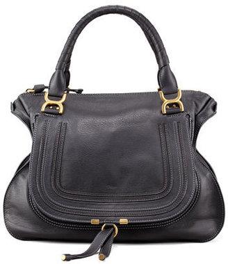 Chloe Marcie Large Leather Satchel Bag $2,090 thestylecure.com