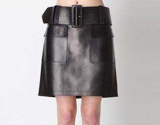 Celine Leather Skirt