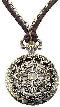 JCPenney Decree® Antique-Look Pocket Watch Pendant