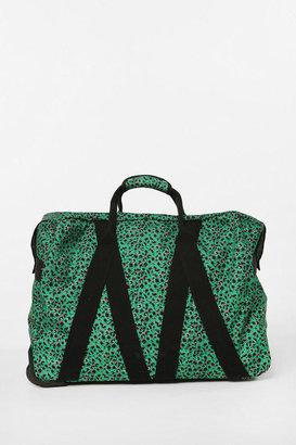 Urban Outfitters Cooperative Printed Rolling Weekender Bag
