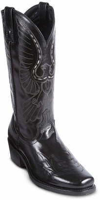 Laredo Mens Stitched Eagle Cowboy Boots