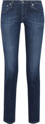 AG Jeans The Stilt mid-rise straight-leg jeans
