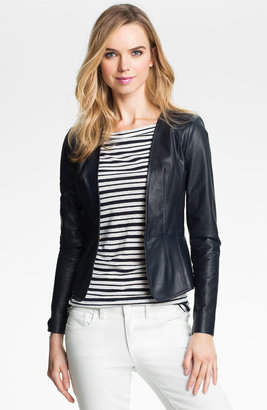Tory Burch 'Abby' Leather Jacket