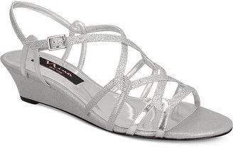 Nina Foley Evening Wedge Sandals