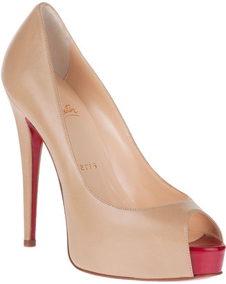 Christian Louboutin Vendome 120 corde leather